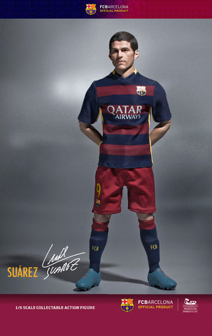 ZC World - FC Barcelona 15/16 - Luis Suarez (Home Kit) - Marvelous Toys - 2