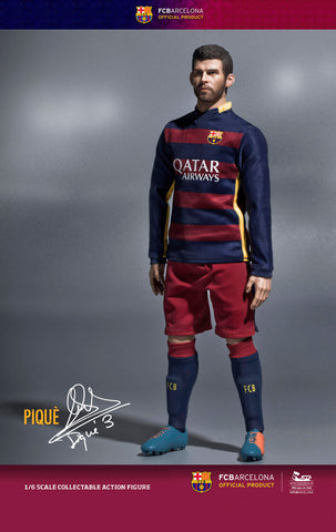 ZC World - FC Barcelona 15/16 - Gerard Pique (Home Kit) - Marvelous Toys - 2