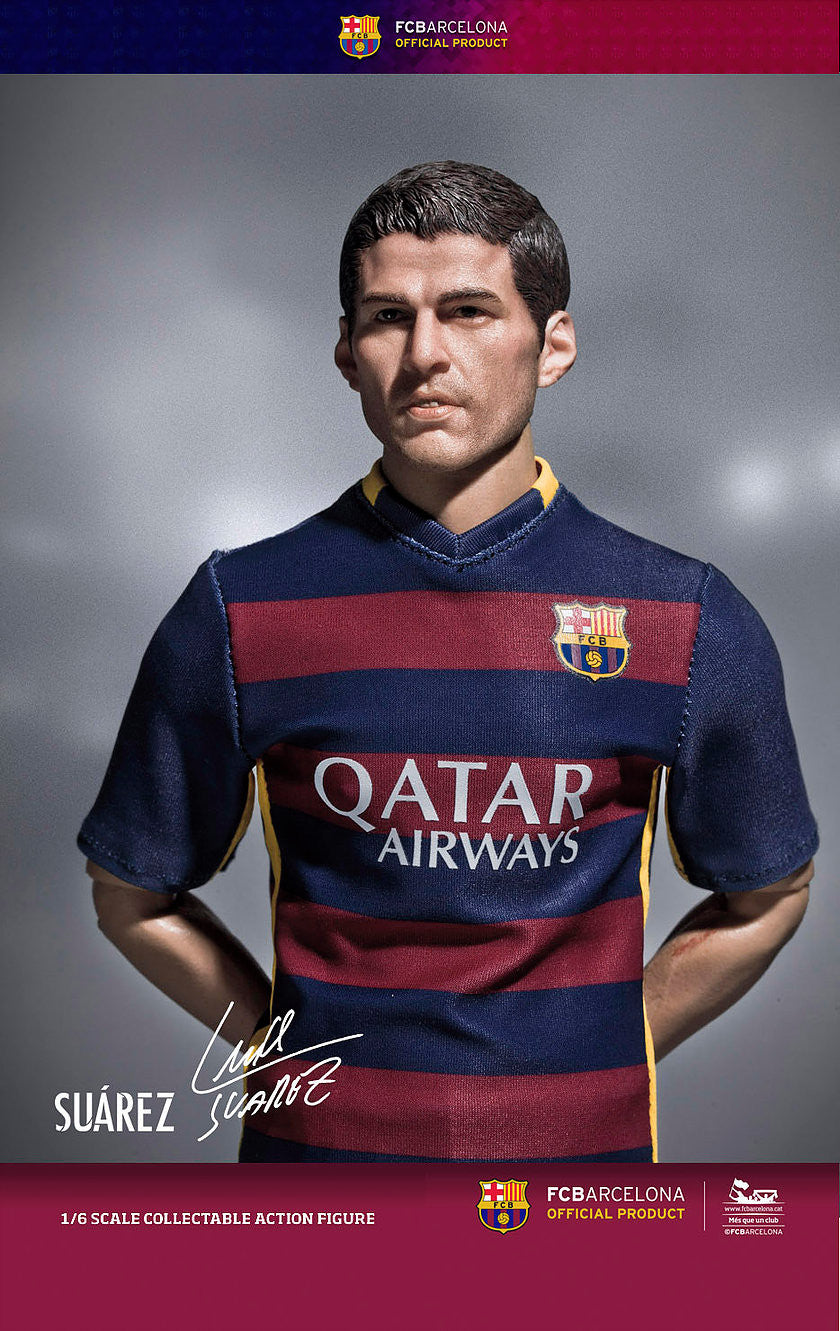 ZC World - FC Barcelona 15/16 - Luis Suarez (Home Kit) - Marvelous Toys - 3