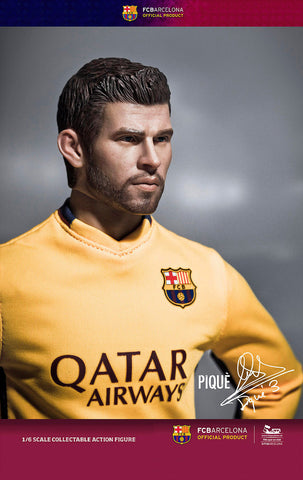 ZC World - FC Barcelona 15/16 - Gerard Pique (Away Kit) - Marvelous Toys - 2