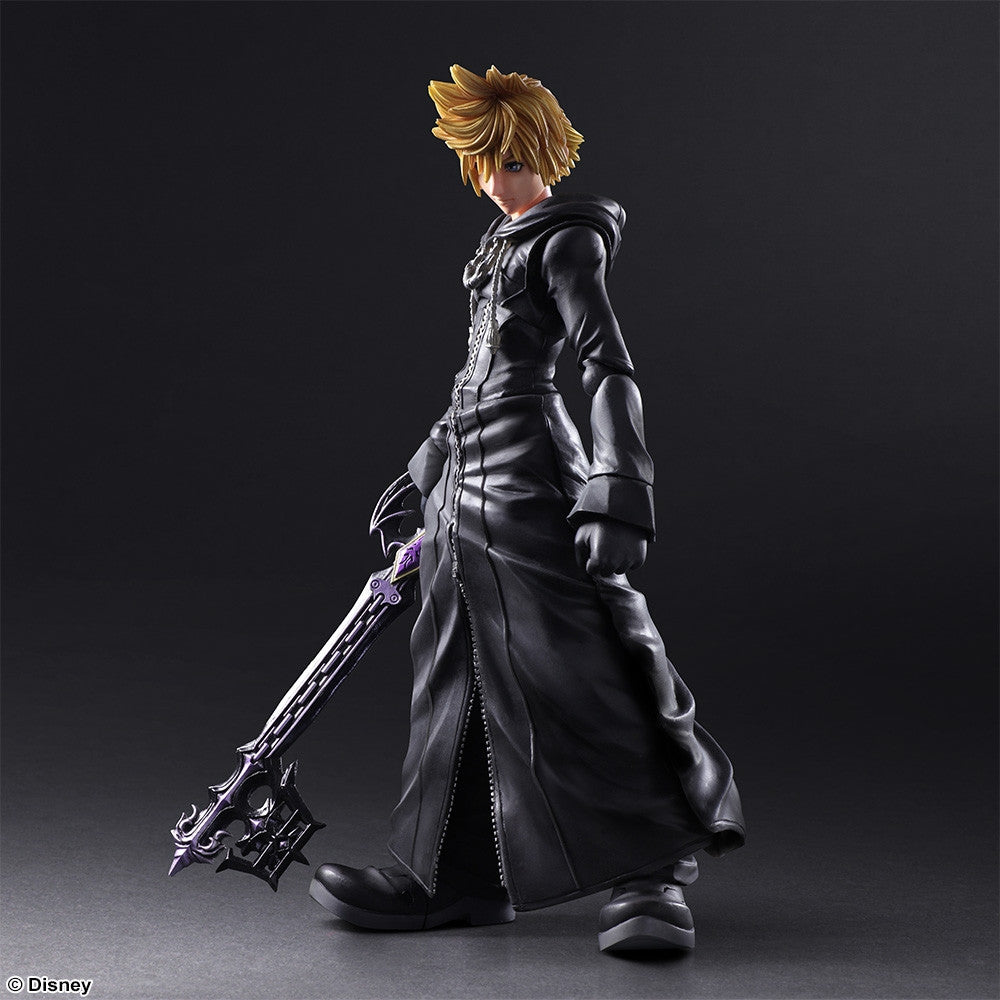 Play Arts Kai - Kingdom Hearts II - Roxas - Organization XIII Ver. - Marvelous Toys - 4