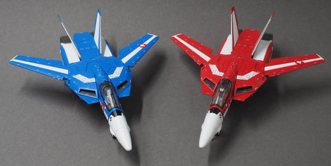 Calibre Wings - Macross (Robotech) - Diecast VF-1J Fighter Max & Miriya Sterling Giftset (1/72 Scale) (Limited Edition)