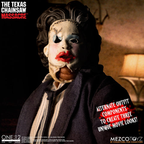 Mezco - One:12 Collective - The Texas Chainsaw Massacre (1974) - Leatherface (Deluxe Edition)