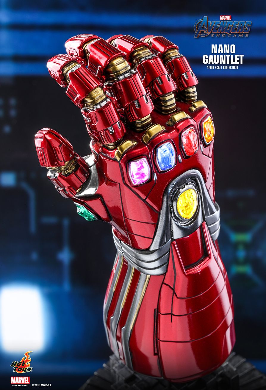 Hot Toys - ACS010 - Avengers: Endgame - Nano Gauntlet (1/4 Scale)