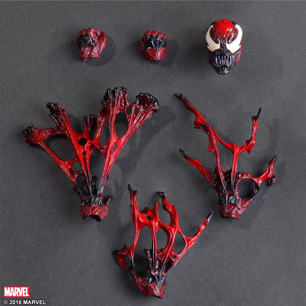 (IN STOCK) Play Arts Kai - Marvel Universe Variant - Venom (Limited Color Ver.) - Marvelous Toys - 4