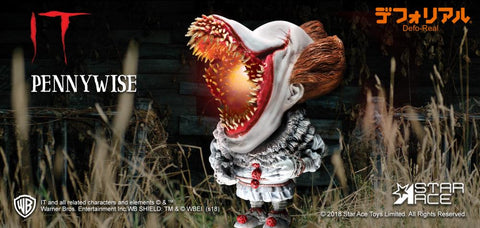 Star Ace Toys - Deform Real Series - IT (2017) - Pennywise (Open Mouth with Lights Ver.)