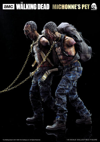 ThreeZero - The Walking Dead - Michonne's Pet Walker Twin Pack