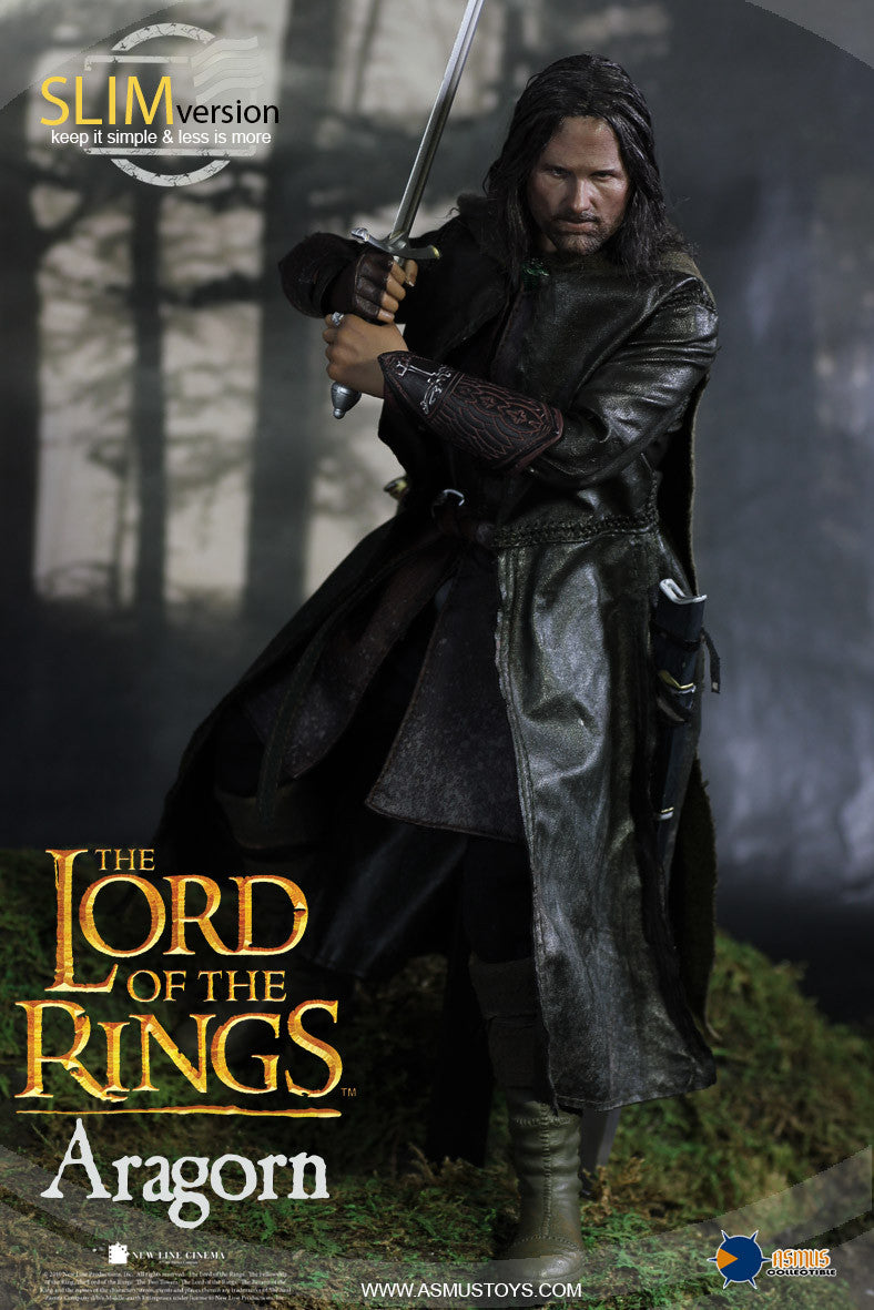 Asmus Toys - LOTR008S - The Lord of the Rings - Heroes of Middle-Earth - Aragorn (Slim Version)