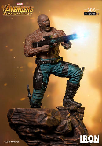 [EXTRA PO SLOT AVAILABLE!] Iron Studios - 1:10 BDS Art Scale Statue - Avengers: Infinity War - Drax