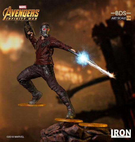 [EXTRA PO SLOT AVAILABLE!] Iron Studios - 1:10 BDS Art Scale Statue - Avengers: Infinity War - Star-Lord (Peter Quill)