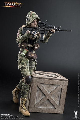 Very Cool - VCF2035-B - 1/6 Digital Camouflage Women Soldier - Villa Sister (Jungle Python Stripe)