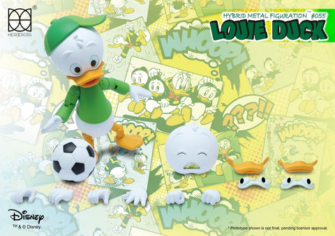 Herocross - Hybrid Metal Figuration - HMF055 - Louie Duck