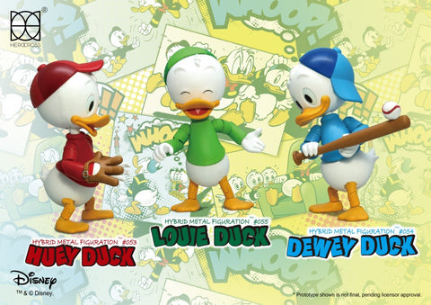 Herocross - Hybrid Metal Figuration - HMF308 - Huey, Dewey, and Louie Set