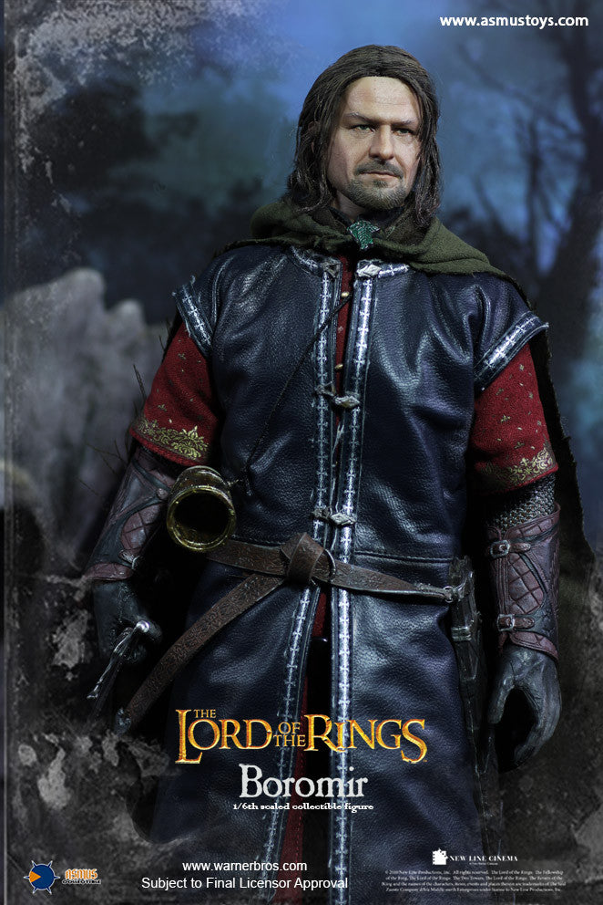 Asmus Toys - LOTR017H - Lord of the Rings - Heroes of Middle-Earth - Boromir (Rooted Hair)