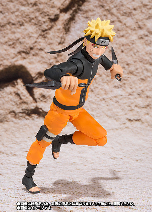 (IN STOCK) Naruto Sage Mode - S.H. Figuarts - Bandai Tamashii Web Exclusive - Marvelous Toys - 3