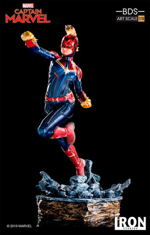 Iron Studios - BDS Art Scale Statue 1:10 - Captain Marvel - Captain Marvel