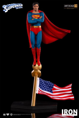 Iron Studios - 1:10 Deluxe Art Scale - Superman: The Movie (1978)