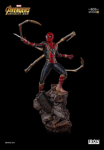 [EXTRA PO SLOT AVAILABLE!] Iron Studios - 1:10 BDS Art Scale Statue - Avengers: Infinity War - Iron Spider-Man