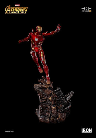 [EXTRA PO SLOT AVAILABLE!] Iron Studios - 1:10 BDS Art Scale Statue - Avengers: Infinity War - Iron Man Mark L