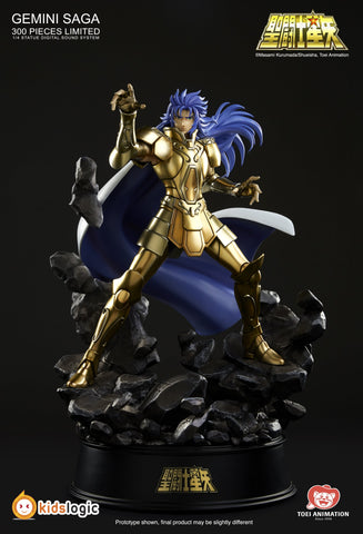 Kids Logic - Saint Seiya - Gemini Saga Statue with Digital Sound System (1/4 Scale)