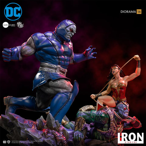 Iron Studios - 1:6 Diorama - DC Comics by Ivan Reis - Wonder Woman v. Darkseid
