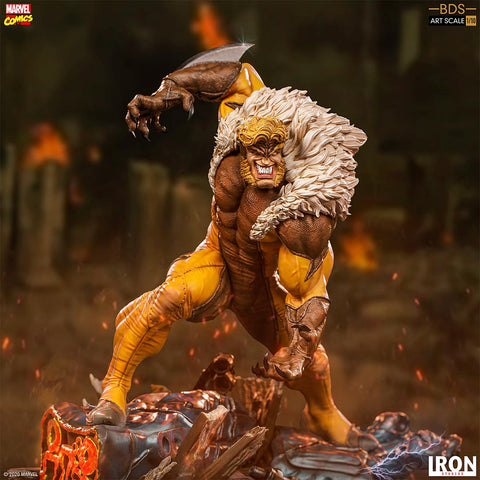 Iron Studios - BDS Art Scale 1:10 - Marvel's X-Men - Sabretooth