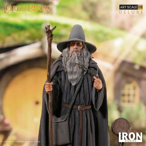 Iron Studios - Deluxe Art Scale 1/10 - The Lord of the Rings - Gandalf