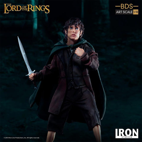 Iron Studios - BDS Art Scale 1:10 - The Lord of the Rings - Frodo Baggins
