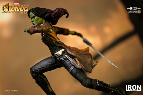 (IN STOCK) Iron Studios - 1:10 BDS Art Scale Statue - Avengers: Infinity War - Gamora