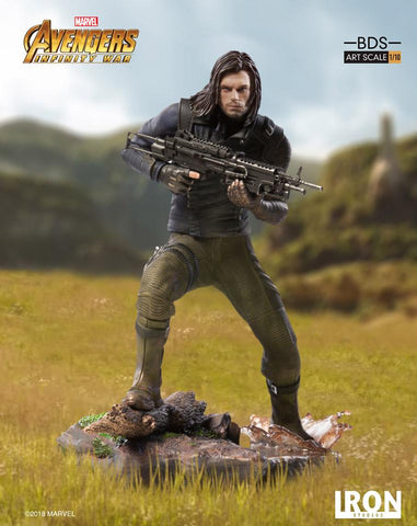 (IN STOCK) Iron Studios - 1:10 BDS Art Scale Statue - Avengers: Infinity War - Winter Soldier (Bucky)