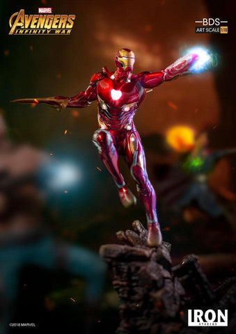 Iron Studios - 1:10 BDS Art Scale Statue - Avengers: Infinity War - Iron Man Mark L