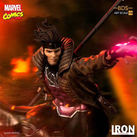 Iron Studios - BDS Art Scale 1:10 - Marvel Comics - Gambit