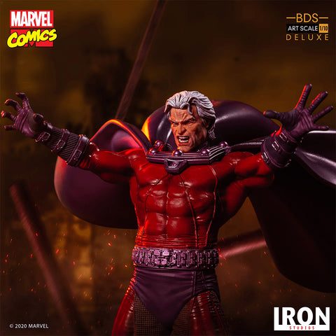 Iron Studios - BDS Art Scale 1:10 Deluxe - Marvel Comics - Magneto