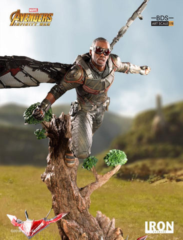 (IN STOCK) Iron Studios - 1:10 BDS Art Scale Statue - Avengers: Infinity War - Falcon