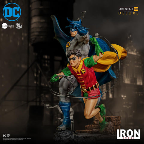 Iron Studios - Deluxe Art Scale 1:10 - DC Comics by Ivan Reis - Batman & Robin