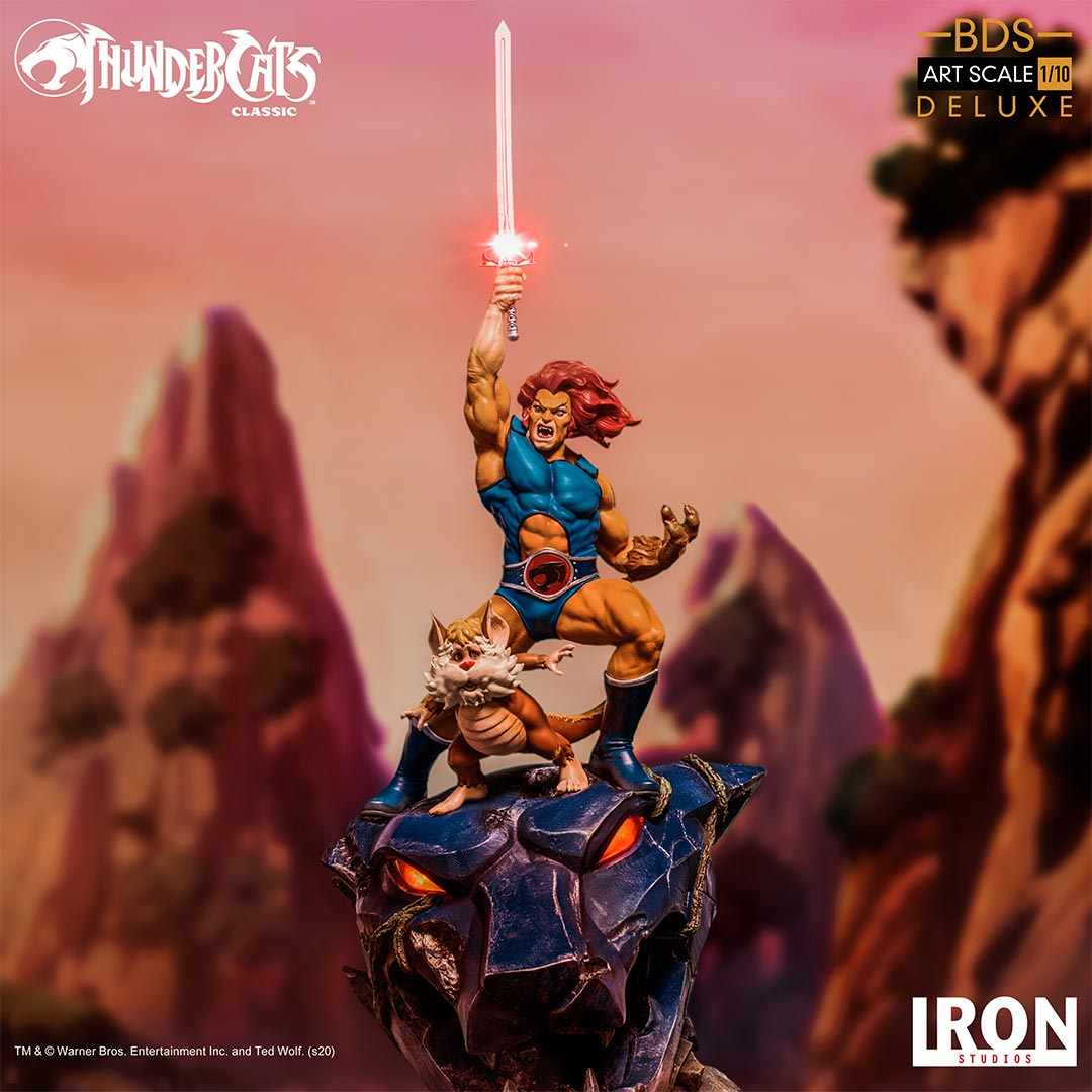 Iron Studios - BDS Art Scale 1:10 - ThunderCats - Lion-O & Snarf