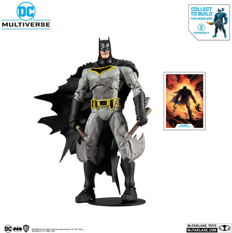 McFarlane Toys - DC Multiverse - Dark Nights: Metal - Batman, Batman Who Laughs with Sky Tyrant Wings, Earth-22 Robin, Infected Superman)