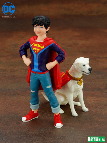 Kotobukiya - ARTFX+ - DC Comics - Super Sons: Jonathan Kent & Krypto Two-Pack