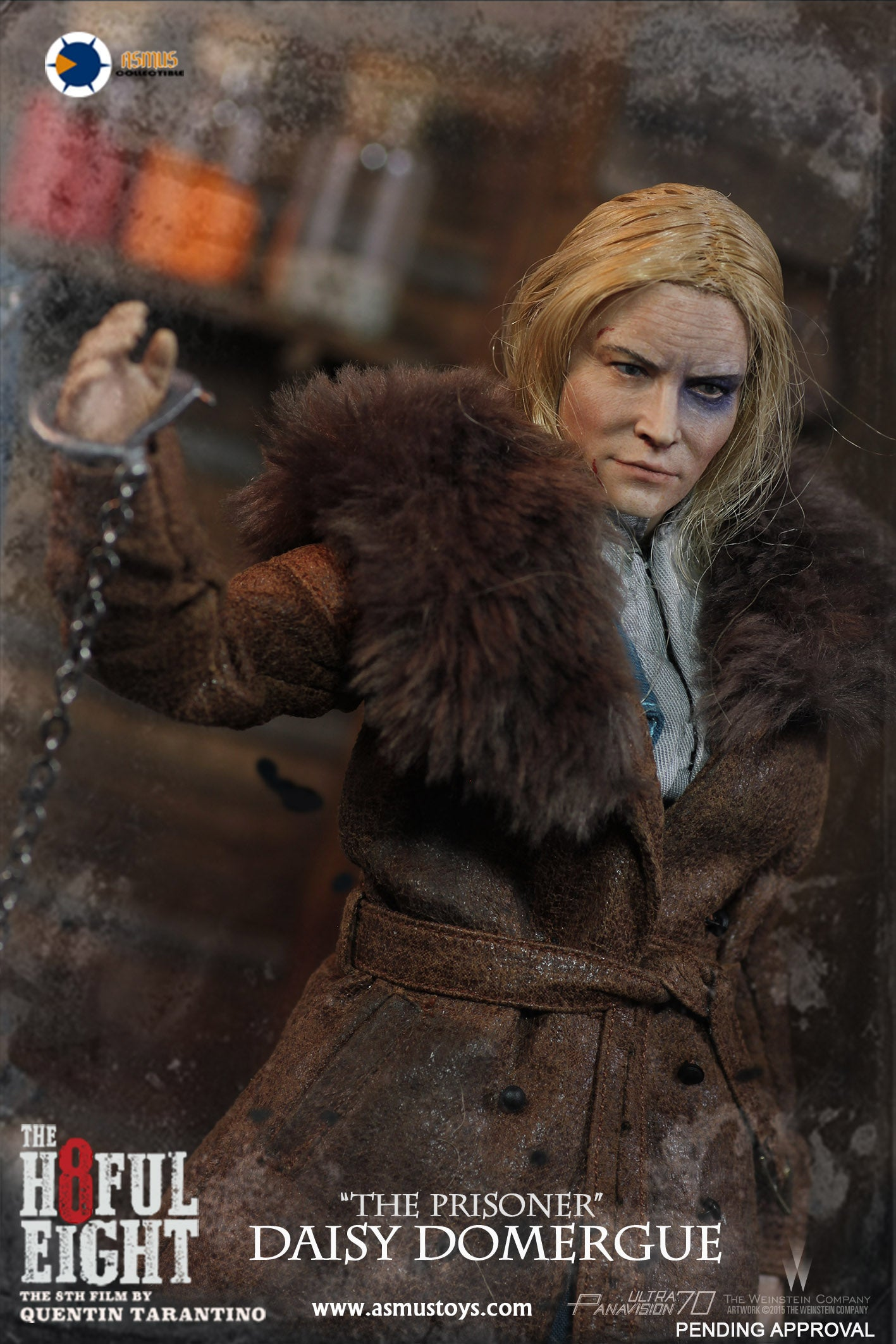 Asmus Toys - H803 - The Hateful Eight Series - Daisy Domergue