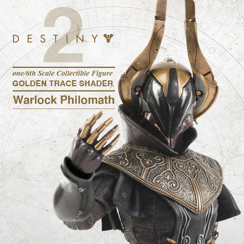 ThreeZero - Destiny 2 - Warlock Philomath (Golden Trace Shader) (1/6 Scale)