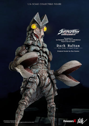 ThreeZero x Ryu Oyama - Ultraman Zero: The Chronicle - Dark Baltan (1/6 Scale)