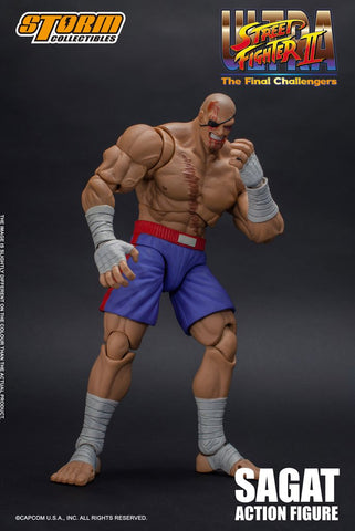 Storm Collectibles - Ultra Street Fighter II: The Final Challengers - Sagat (1/12 Scale)