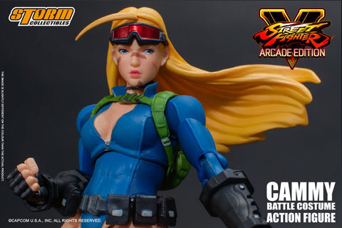 Storm Collectibles - Street Fighter V - Cammy (Battle Costume)