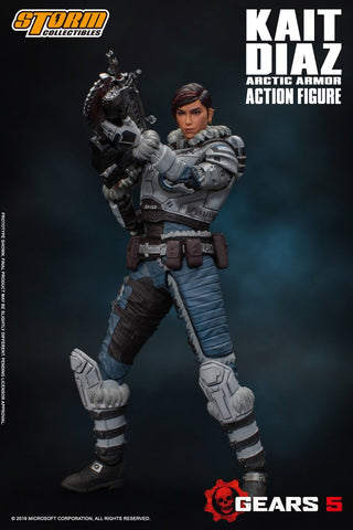 Storm Collectibles - Gears of War 5 - Kait Diaz (Arctic Armor) (1/12 Scale)
