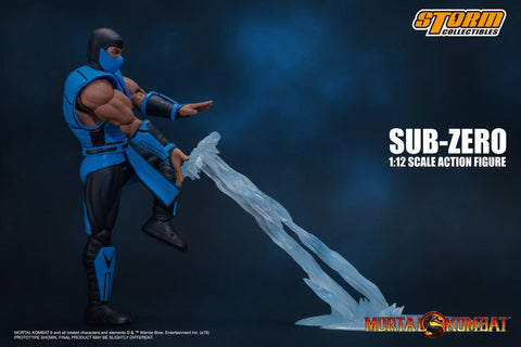 Storm Collectibles - Mortal Kombat 3 VS Series - Sub-Zero (1/12 Scale)