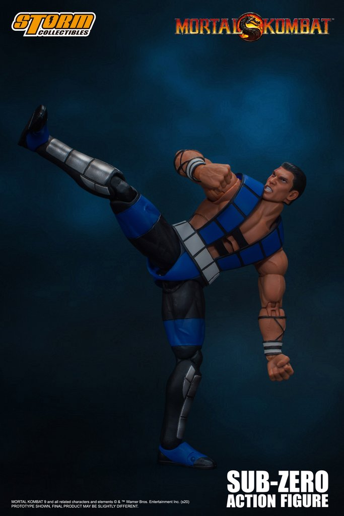 Storm Collectibles - Mortal Kombat 3 VS Series - Sub-Zero (Unmasked)