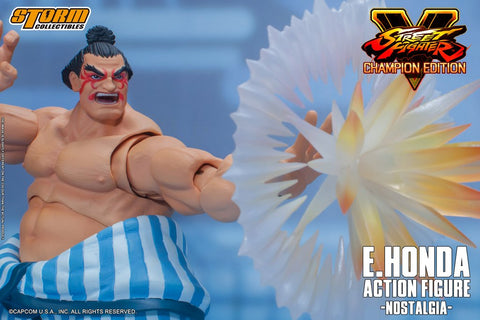 Storm Collectibles - Street Fighter V - E.Honda (Nostalgia Costume)