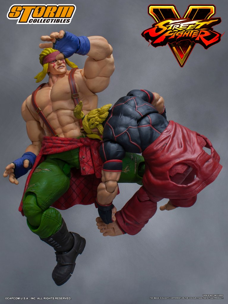 Storm Collectibles - Street Fighter V - Alex