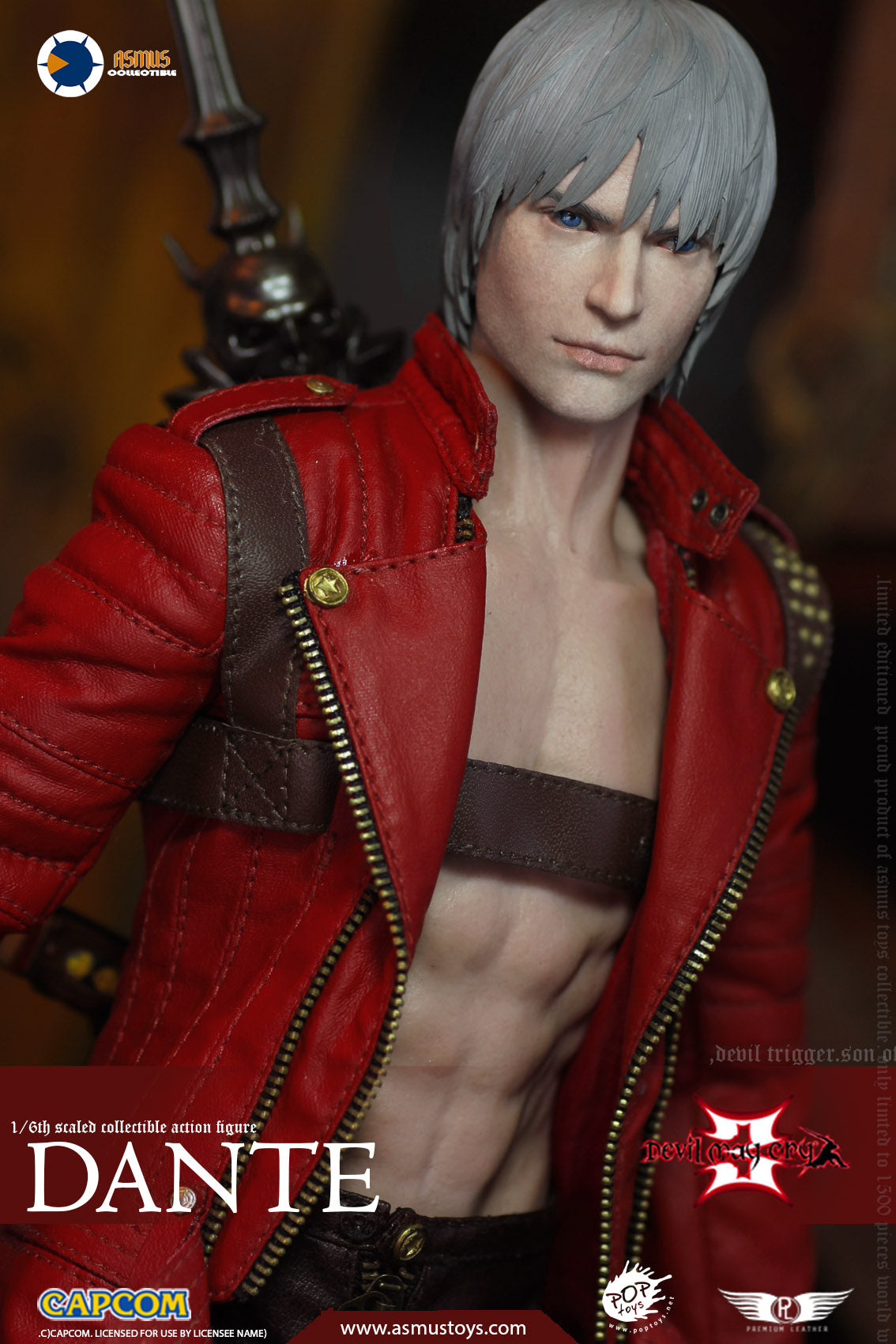 Asmus Toys - Devil May Cry 3: Dante's Awakening - Dante (1/6 Scale)