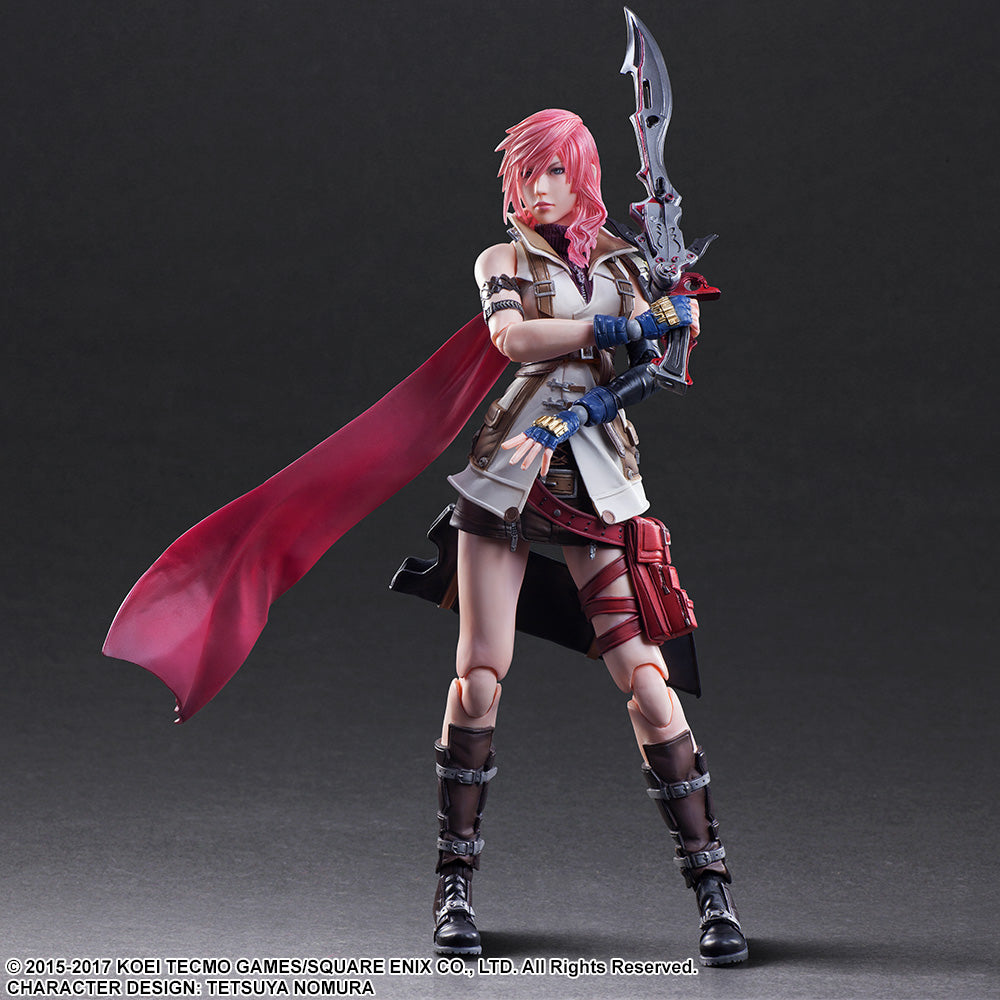 Play Arts Kai - Dissidia Final Fantasy - Lightning